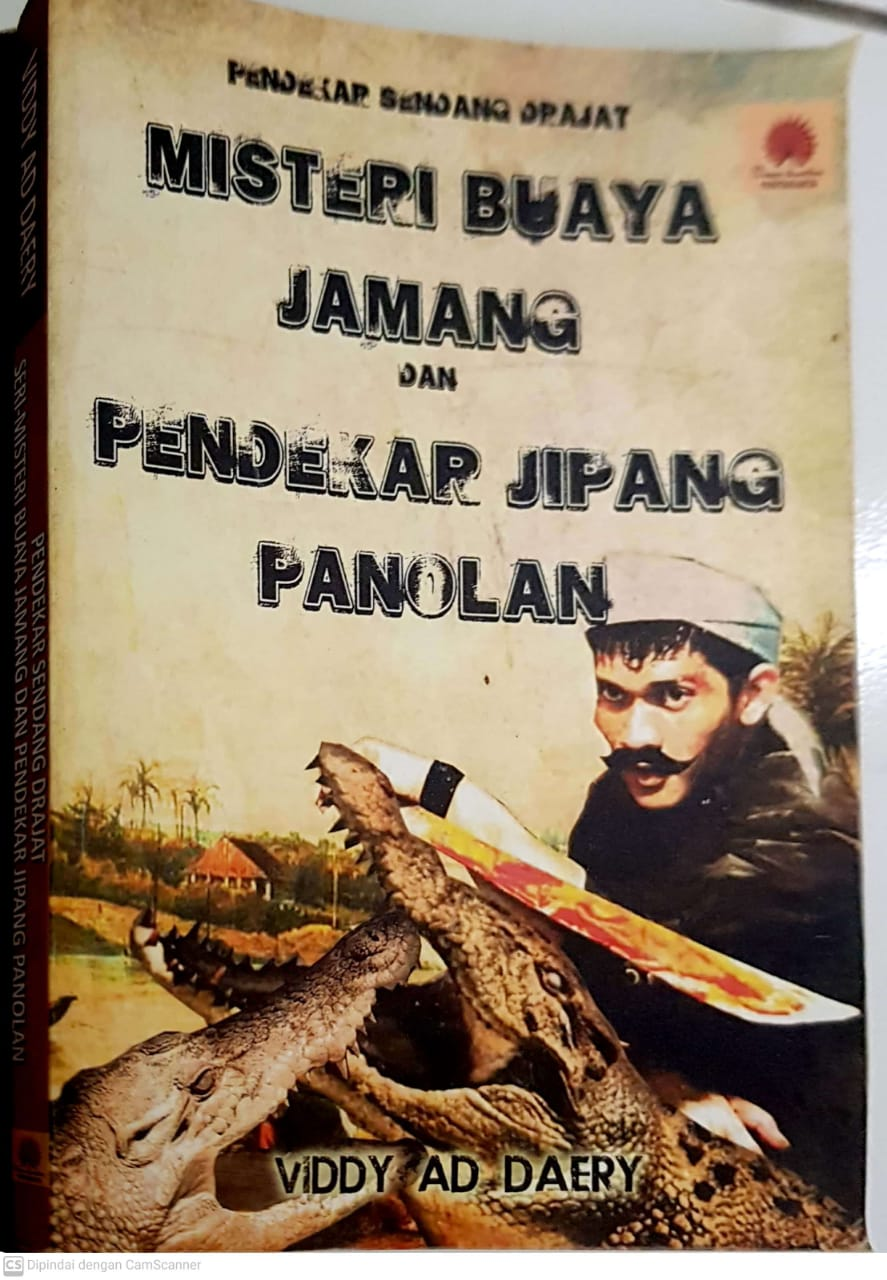 "Buku ""Misteri Buaya Jamang dan Pendekar Jipang Panolan"""